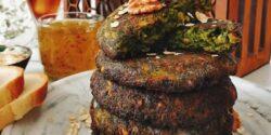 آموزش طرز تهیه کوکو سبزی ساده و خوشمزه با سبزی تازه
