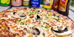 آموزش طرز تهیه پیتزا مخلوط خانگی و خوشمزه با فر و در ماهیتابه