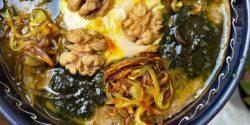 طرز تهیه حلیم بادمجان خوشمزه و مجلسی سنتی مثل نذری