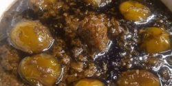 طرز تهیه خورش گوجه سبز خوشمزه و مجلسی به روش شمالی