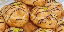 طرز تهیه نان خامه ای فوق العاده خوشمزه و مجلسی در خانه